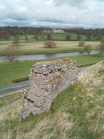 James II died outside the walls of Roxburgh Castle when one of his bombards exploded. Castles old and new - geograph.org.uk - 163364.jpg