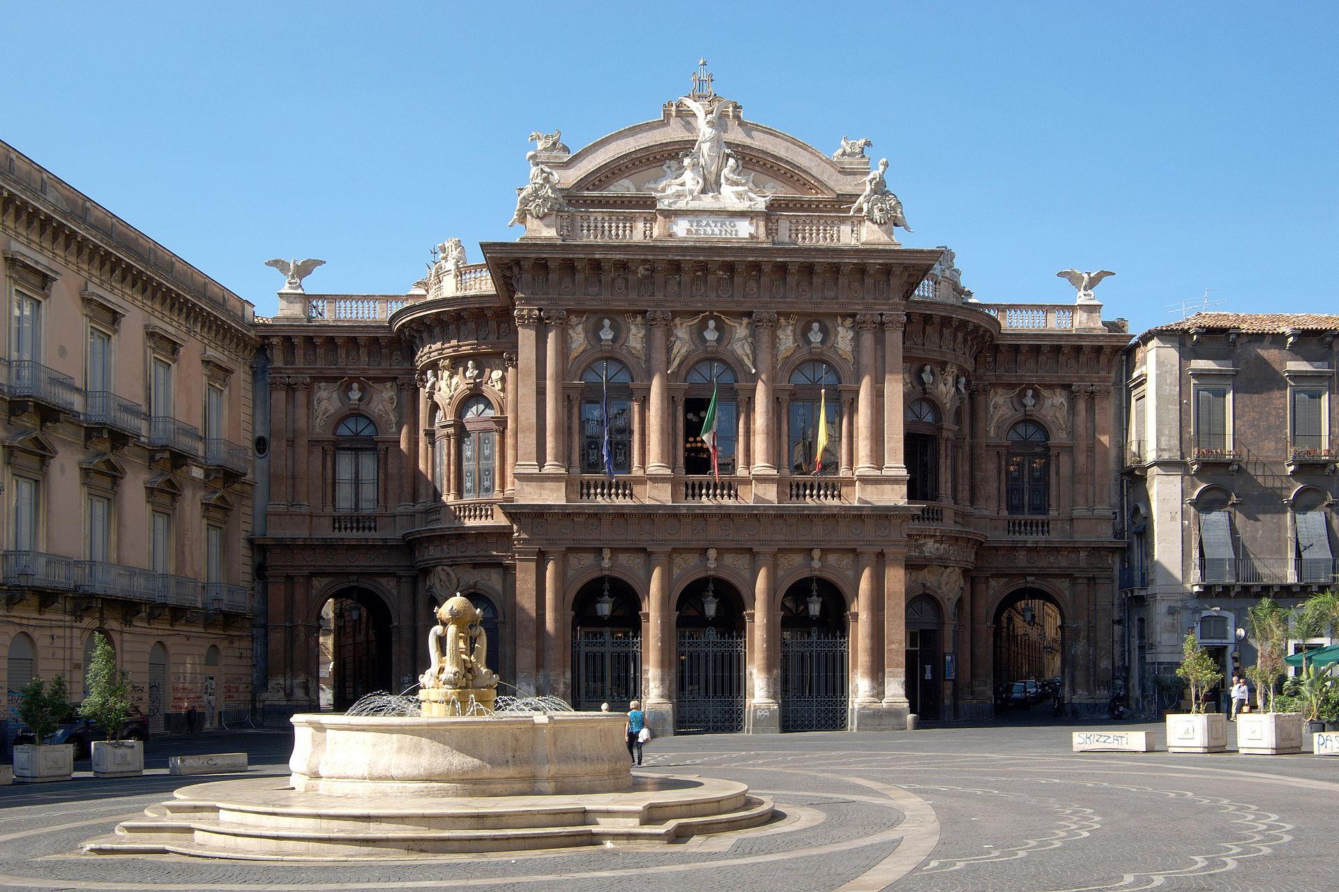 Teatro massimo vincenzo bellini wikipedia for Studio architettura catania