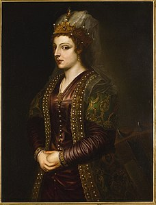 Caterina Cornaro after Titian (19th c., Sotheby's).jpg