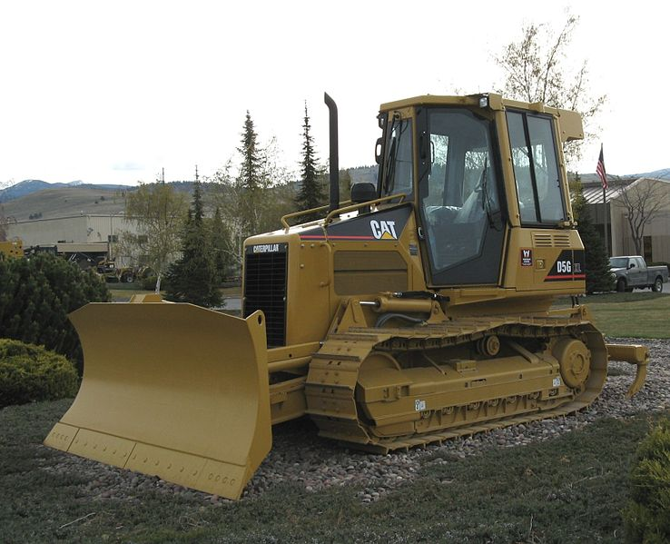 File:Caterpillar D5G bulldozer, Missoula, Montana.jpg