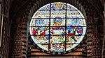 Cathedral (Siena) - Last Supper window.jpg