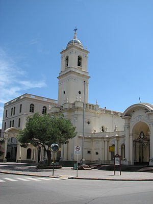 San Salvador de Jujuy - Image: Cathedrale Jujuy