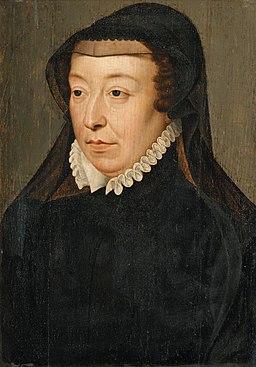 Catherine de Médicis - entourage de François Clouet
