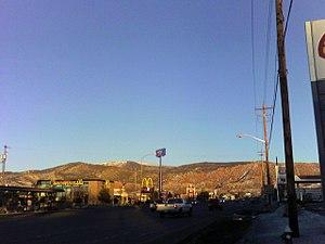 Cedar City, Utah - The mountains east of Cedar City at sunset