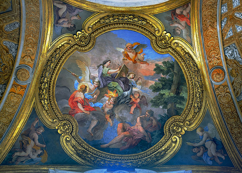 Ceiling on right San Carlo al Corso (Rome).jpg