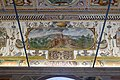Ceiling with view of Caprarola and Villa Farnese - Villa Farnese - Caprarola, Italy - DSC02220.jpg