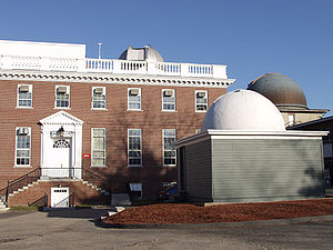 Smithsonian Astrophysical Observatory - SAO exterior, Cambridge, MA