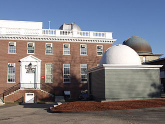 Smithsonian Astrophysical Observatory - SAO exterior, Cambridge, Massachusetts