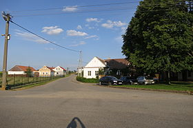 Center of Menhartice, Třebíč District.JPG