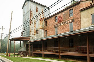 National Register of Historic Places listings in Pickens County, South Carolina - Image: Central Roller Mill, Central, SC