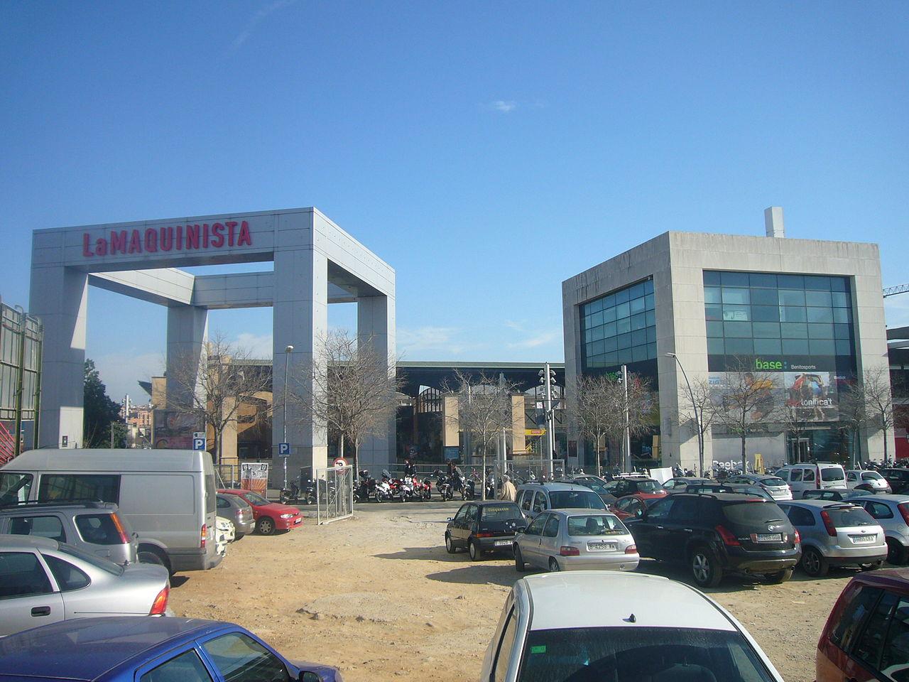 File centre comercial la maquinista jpg wikimedia commons - La maquinista centre comercial ...