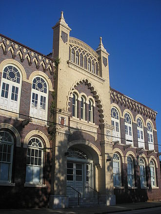 West Tampa - Former West Tampa branch of the Centro Español club, now houses the Hillsborough Education Foundation