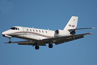 Cessna Citation Sovereign - Image: Cessna Citation Sovereign Rafael Luiz (14725958464)