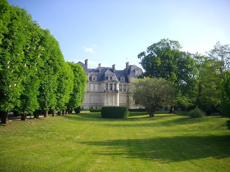 Jacquesson castle in Châlons-en-Champagne (Marne, France)