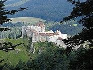 Château de Joux - Vue du belvédère de la Fauconnière