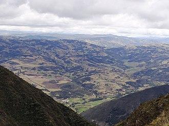 Chíquiza - Image: Chíquiza rural 2