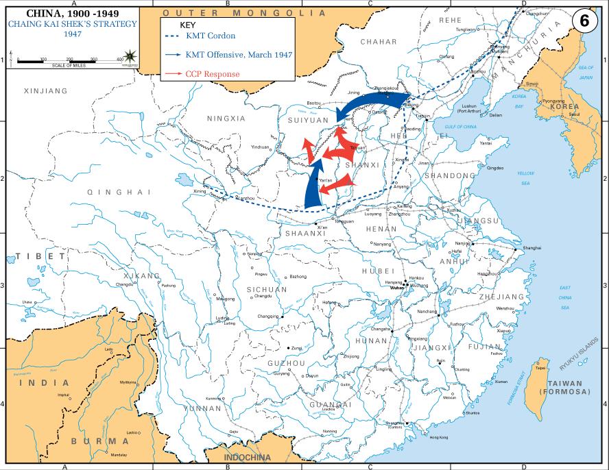 Chaing Kai-shek%27s Strategy 1947