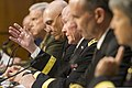 Chairman of the Joint Chiefs of Staff U.S. Army Gen. Martin E. Dempsey, center, testifies about sexual assault in the military before the U.S. Senate Armed Services Committee on Capitol Hill in Washington, D.C 130604-A-HU462-230.jpg