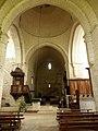 Chancelade (24) Abbatiale Notre-Dame Intérieur 04.jpg