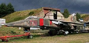 Robert M. Bond - A MiG-23 BN in East German markings