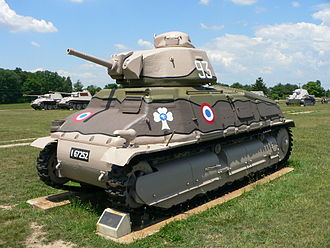 SOMUA S35 - A SOMUA S35 at the US Army Ordnance Museum