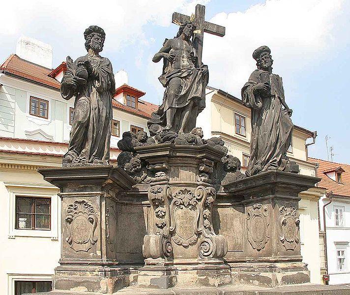 File:Charles Bridge Christ&St Cosme&Damian.jpg
