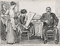 Charles Dana Gibson - The Reason Dinner Was Late - by 1912.jpg
