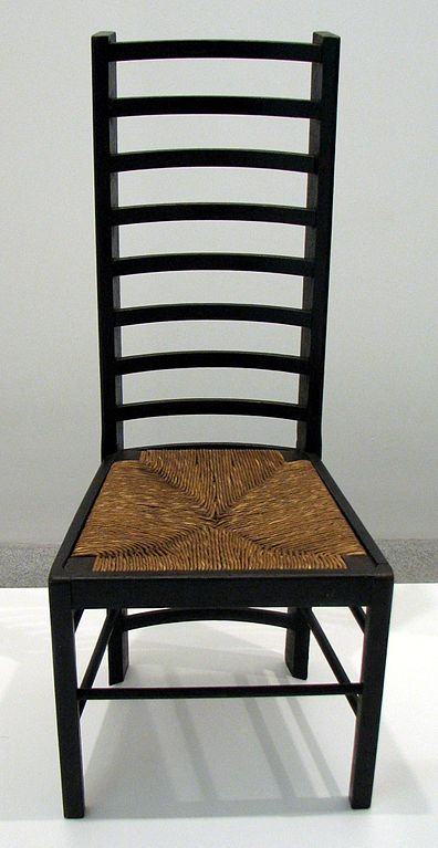 file charles rennie mackintosh chair wikimedia commons. Black Bedroom Furniture Sets. Home Design Ideas