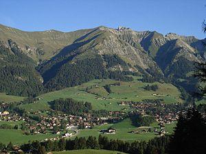 Pays-d'Enhaut District - Image: Chateaudoex 1