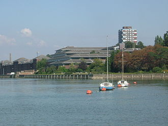 Chatham, Kent -  Medway Council Building at Gun Wharf