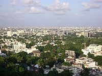 Chennai viewed from St. Thomas Mount