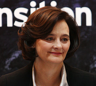 Cherie Blair British barrister and wife of former British Prime Minister Tony Blair
