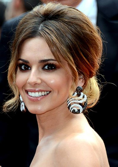 Cheryl Cole, English singer, songwriter and television personality