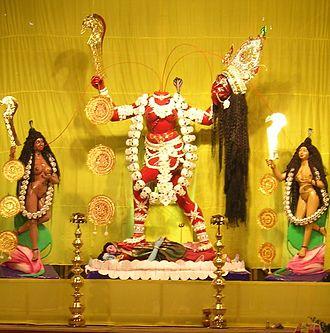 Chhinnamasta - Chhinnamasta, at a Kali Puja Pandal, Kolkata