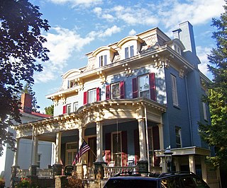 Chichester House (Kingston, New York) United States historic place