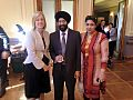 Chief Minister Katy Gallagher with Mrs and Mr Amardeep Singh President FINACT.jpg