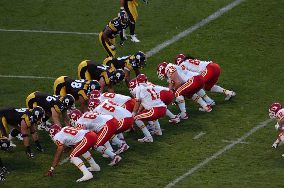 Chiefs and Steelers lineup