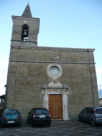 Fano Adriano - Church of Sts. Peter and Paul.
