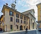 Chiesa di Sant'Angela Merici da via Moretto Brescia.jpg