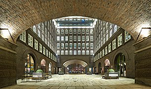 Chilehaus - Inner Courtyard from S - stitched HDR image.jpg