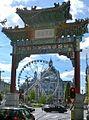 Chinese poort en centraal station.jpg