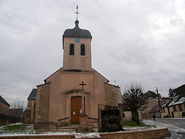 The church in Chorey-les-Beaune
