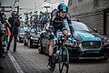 Chris Froome - The First Man to Cycle through the Eurotunne (14407092297).jpg