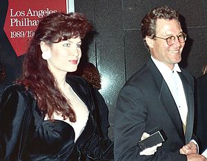 Chris Lemmon at the 1990 Academy Awards. NOTE:...