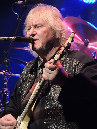 Chris Squire - Squire performing with Yes in April 2013