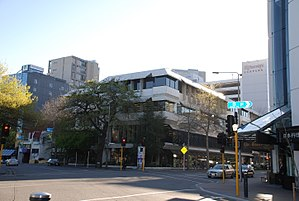 Christchurch Central Library - The Christchurch Central Library in 2007