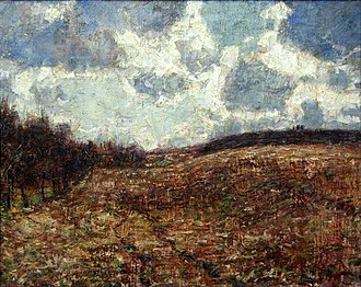 Christian Rohlfs - Image: Christian Rohlfs Hügelige Landschaft im Spätherbst