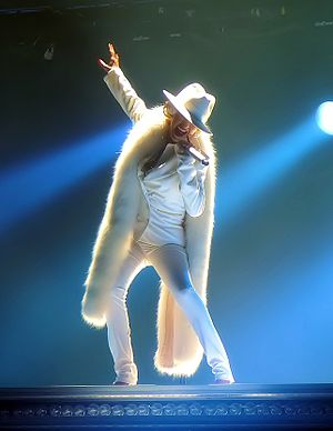 "Ain't No Other Man - Aguilera performing ""Ain't No Other Man"" on the Back to Basics Tour in 2006"
