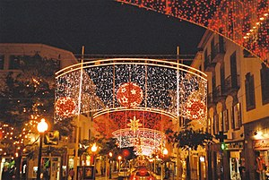Christmas Decorations in Funchal