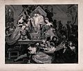 Christmas celebrated by people playing instruments, eating a Wellcome V0040156.jpg